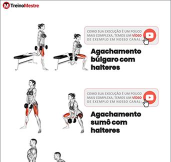 exercícios para academia em casa equipamentos