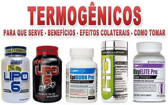 termogênico - para que serve efeitos colaterais como tomar