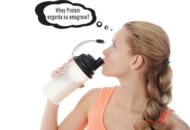 Whey Protein Engorda ou Emagrece