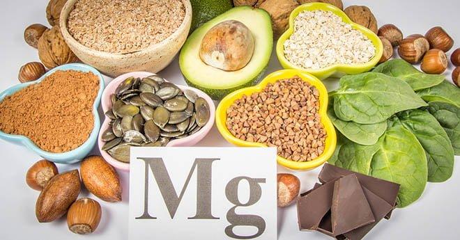 fontes alimentos benefícios do magnésio