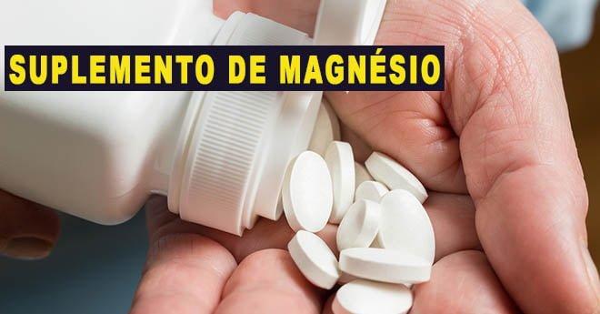 magnésio suplemento