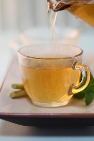 chá gengibre receita