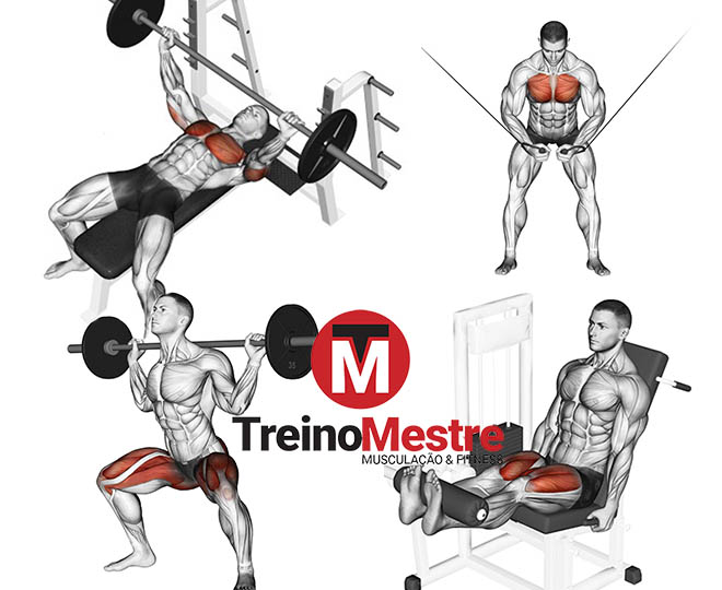 treino método pre exaustão como fazer