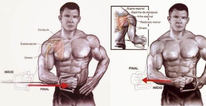 exercícios para manguito rotador