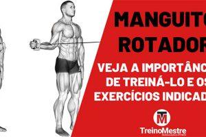 Manguito rotador: Importância em treinar e melhores exercícios