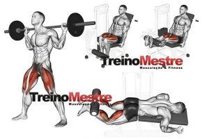 Pontos de descanso no treino de pernas (tenha cuidado)
