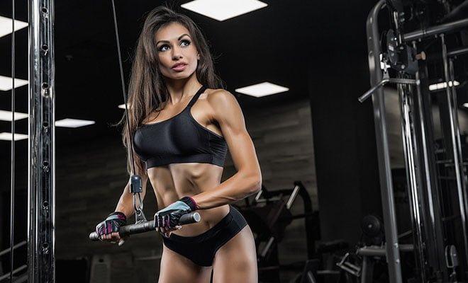 treino exercícios tríceps para mulheres