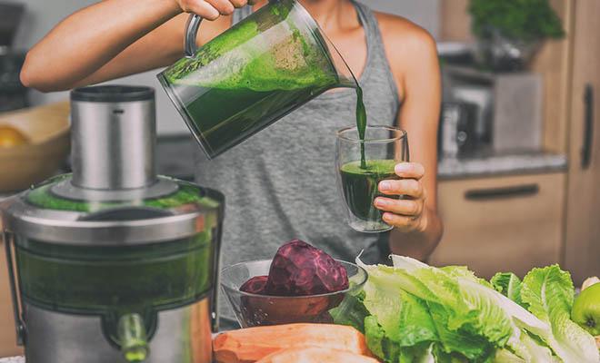 como fazer o suco verde detox