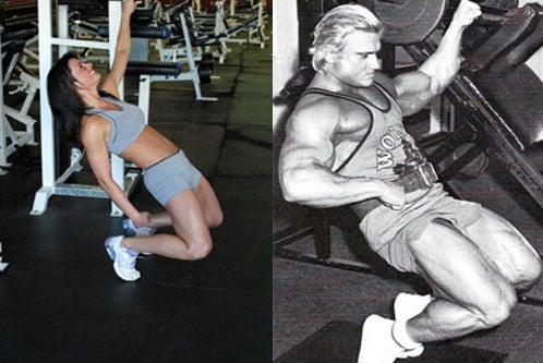 sissy squat como fazer execução