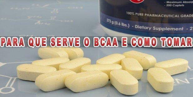BCAA o que e, para serve, beneficios, efeitos colaterais e como tomar
