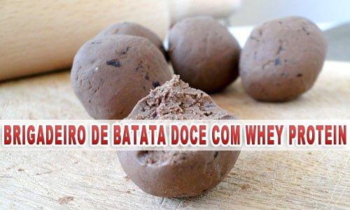 brigadeiro de whey protein receita