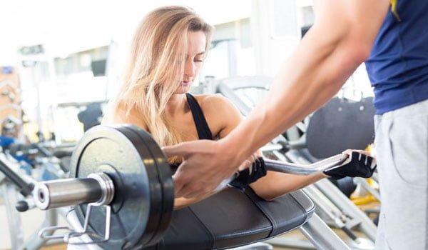 Monitoramento das cargas na musculação