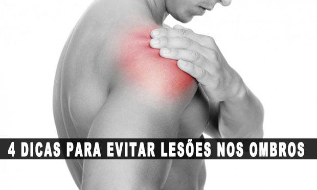 como evitar lesões no ombro musculação dor