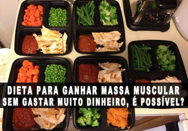 Dieta para perder barriga e ganhar massa magra