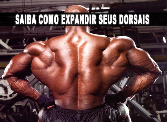 como expandir dorsais crescer costas musculos