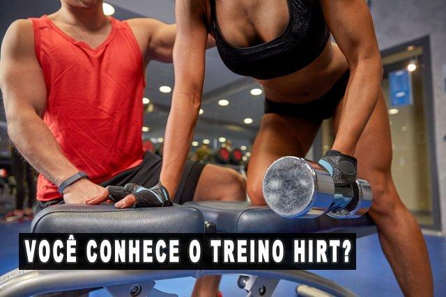Treino HIRT alta intensidade