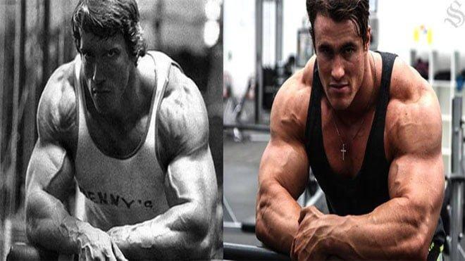 Arnold Schwarzenegger e Calum Von Moger