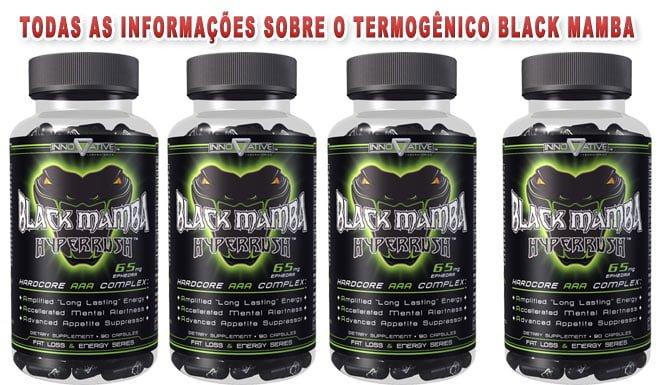 black mamba hyperrush termogênico