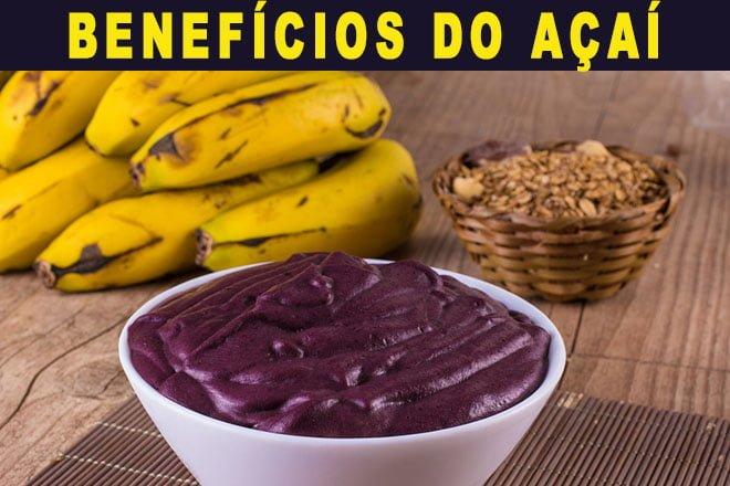 Açaí Banana e granola