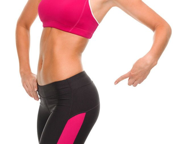 como perder gordura abdominal sem perder bumbum