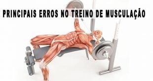 erros treino de musculação