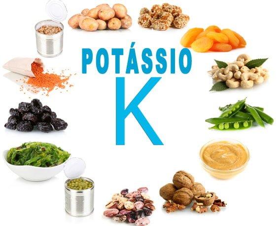 Potássio - funções e alimentos ricos