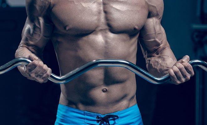 exercício caseiro para hipertrofia do bíceps