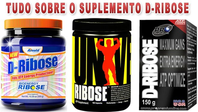 Suplemento D-Ribose