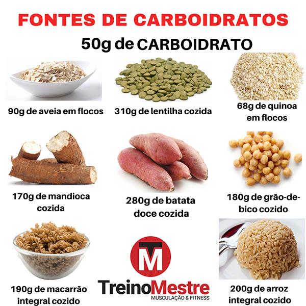 melhores fontes carboidratos dieta hipertrofia emagrecer