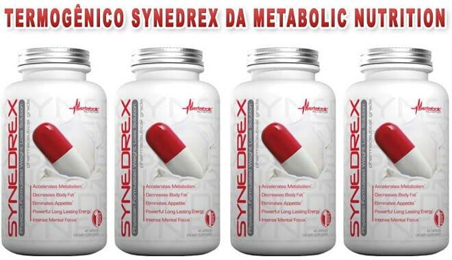 termogênico Synedrex da Metabolic Nutrition