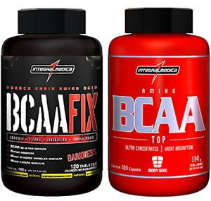 BCAA Fix e BCAA Top Integral Medica