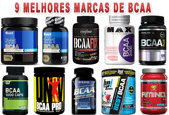 Qual o melhor BCAA? melhores marcas de bcaa nacionais e importadas