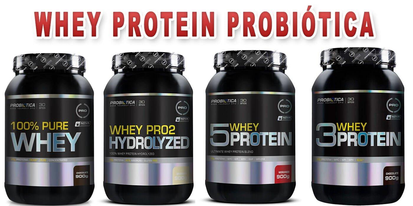 a7f8b9db75 Whey Protein Probiótica é bom  Veja os tipos