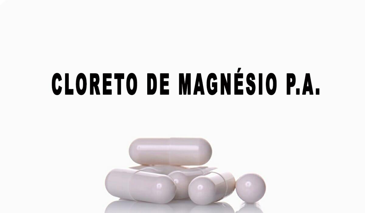 cloreto de magnesio em capsulas como tomar