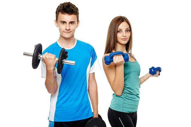 Musculação para adolescentes