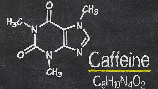 Fórmula molécula da cafeína