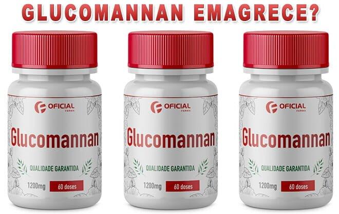 Glucomannan emagrece?