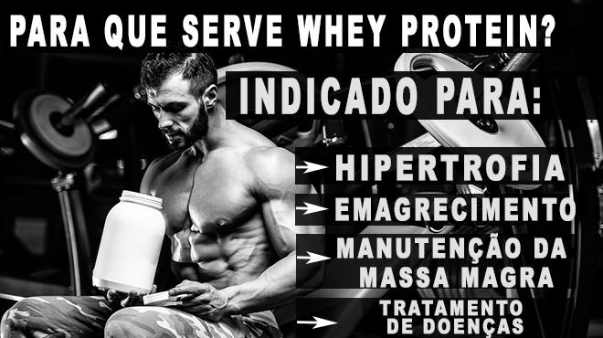 para que serve whey protein
