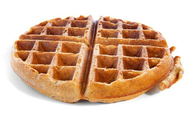 Receitas de waffles light com farinha integral