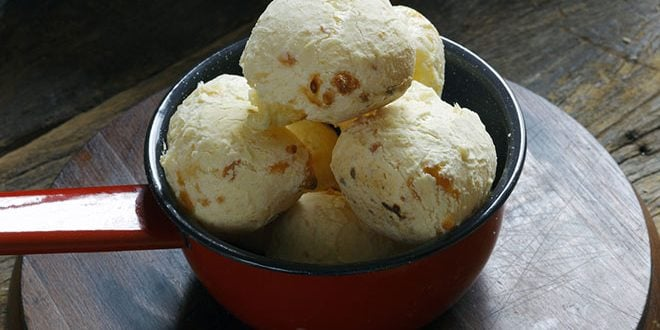 Pão de queijo fit light