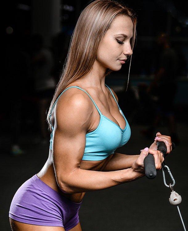 falha concêntrica no treino para mulheres