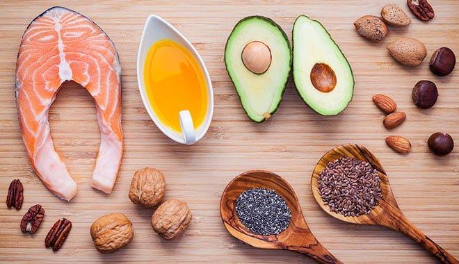 lista alimentos gorduras boas - dieta ciclista