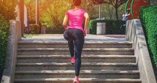 treino exercício subir escada
