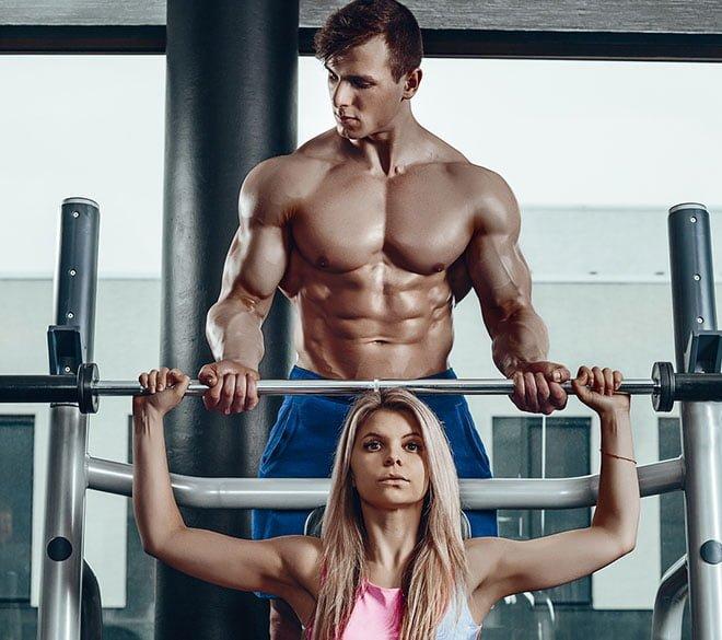 benefícios em treinar academia