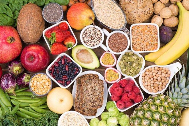 Alimentos ricos em fibras para dieta