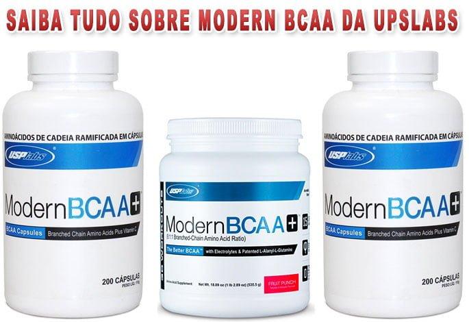 Modern BCAA USP Labs é bom