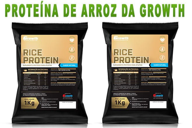 Proteína de arroz Growth Supplements Rice Protein