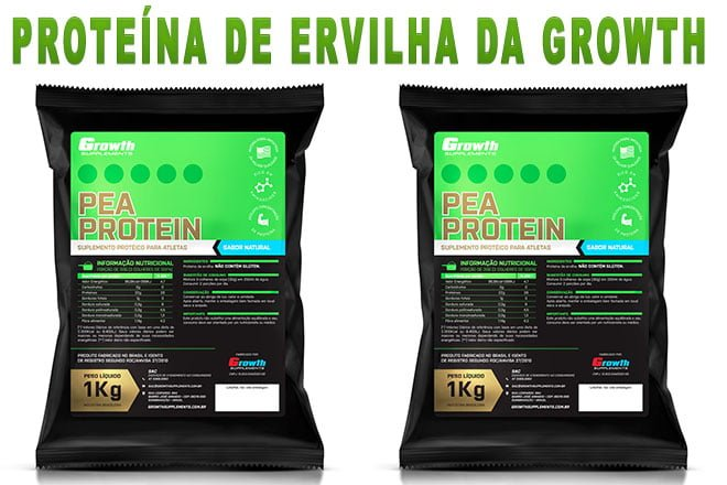 Proteína de ervilha Pea Protein Growth Supplements