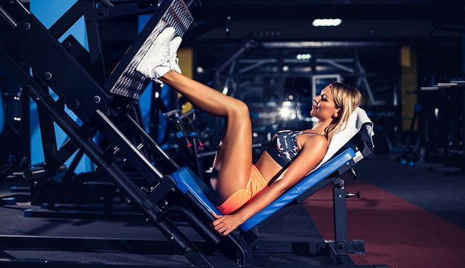 exercícios multiarticulares leg press