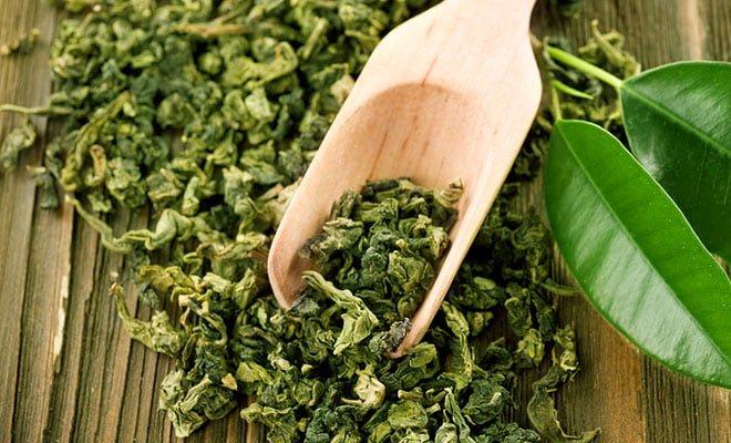 Benefícios - folhas do chá verde